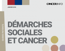 "L'INCa actualise son Guide Patients ""Démarches sociales et cancer"""